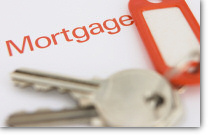 Image of keys with Mortgage